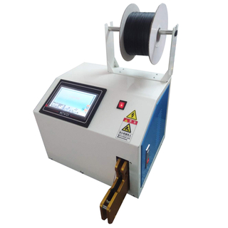 Semi-automatic wire and cable tying machine