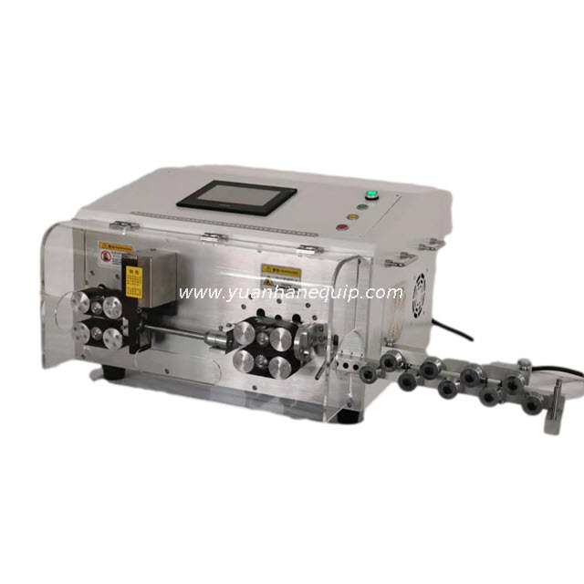 Coated Aircraft Cable Stripping Machine