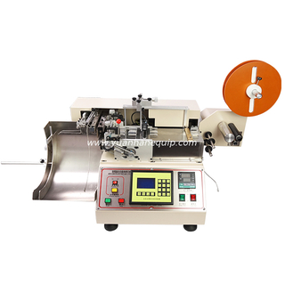High Speed Hot and Cold Trademark Cutting Machine with Stacking Function