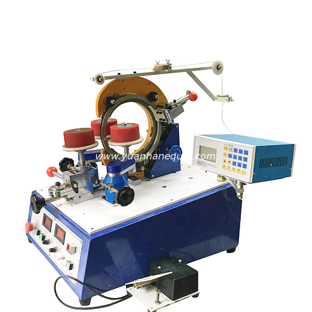 Automatic Toroidal Coil Winding Machine