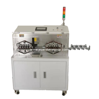 3 Layers Large Cable Cutting Stripping Machine