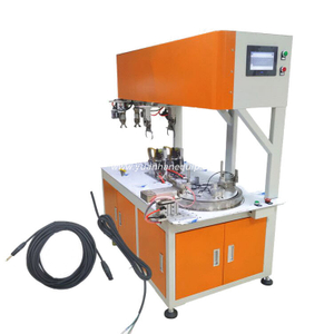 Automatic Cable Coiling and Binding Machine for 8 Shape and Round Shape