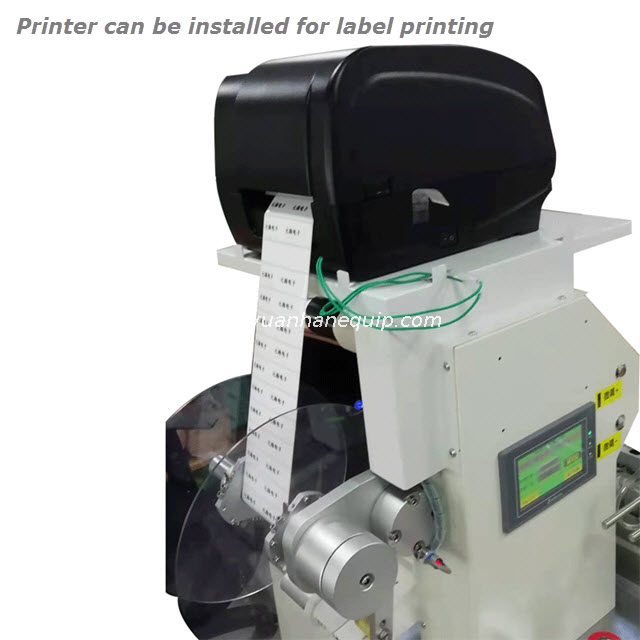 Cable Sticker Folded Flag Label Machine