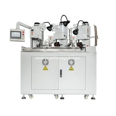 Three Ends Two Wires Combined Terminal Crimping Machine