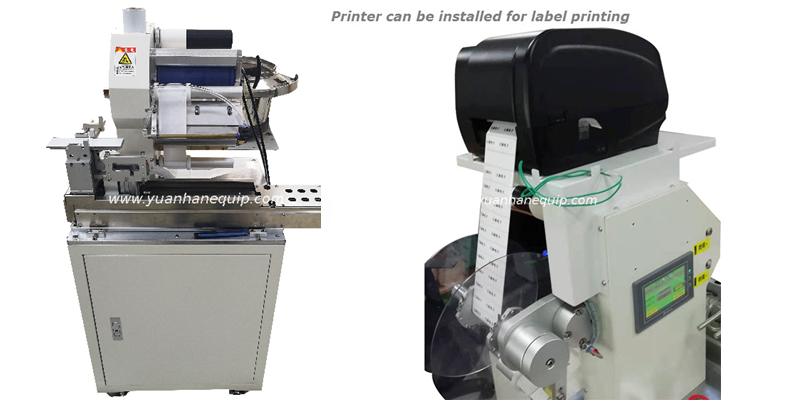 Label Printing/Folding Machine