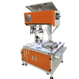 Automatic Cable Coil Winding and Binding Machine