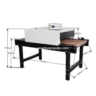 Single Side Heat Shrink Sleeves Shrinking Machine