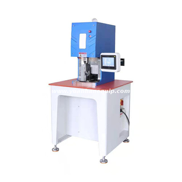 Servo Motor Wire Lugs Crimping Machine