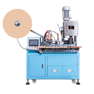 Automatic Plug Pins Continuous Crimping Machine