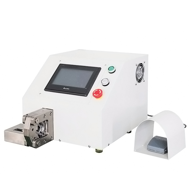 Small Wire Hexagon Shape Tubular Ferrules Crimping Machine