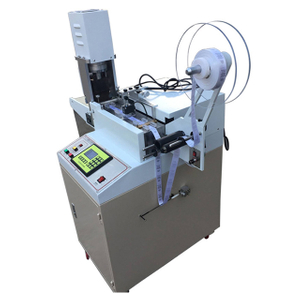 High Speed Ultrasonic Cloth Label Cutting Machine