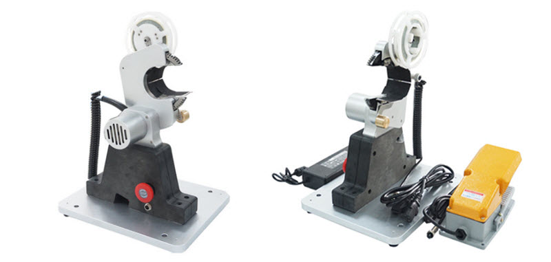 wire and cable bench taping machine