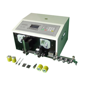 Computerized Thin Wire Cutting and Stripping Machine