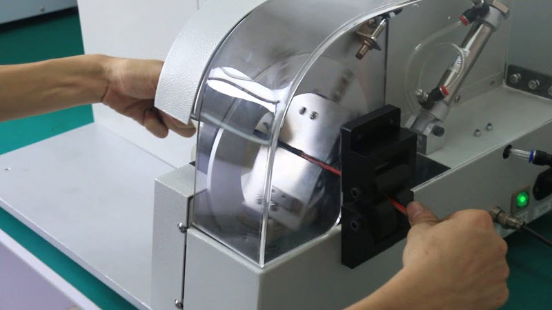taping machine for wire harness